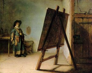 rembrandt_artist-in-his-studio