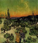 van-gogh_landscape-with-couple-walking-and-crescent-moon_1890