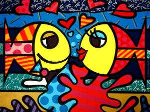 romero-britto_deeply-in-love