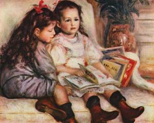 pierre-auguste-renoir_children-reading