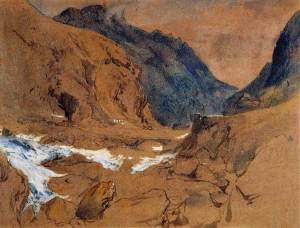 john-ruskin_The-Pass-of-Faido