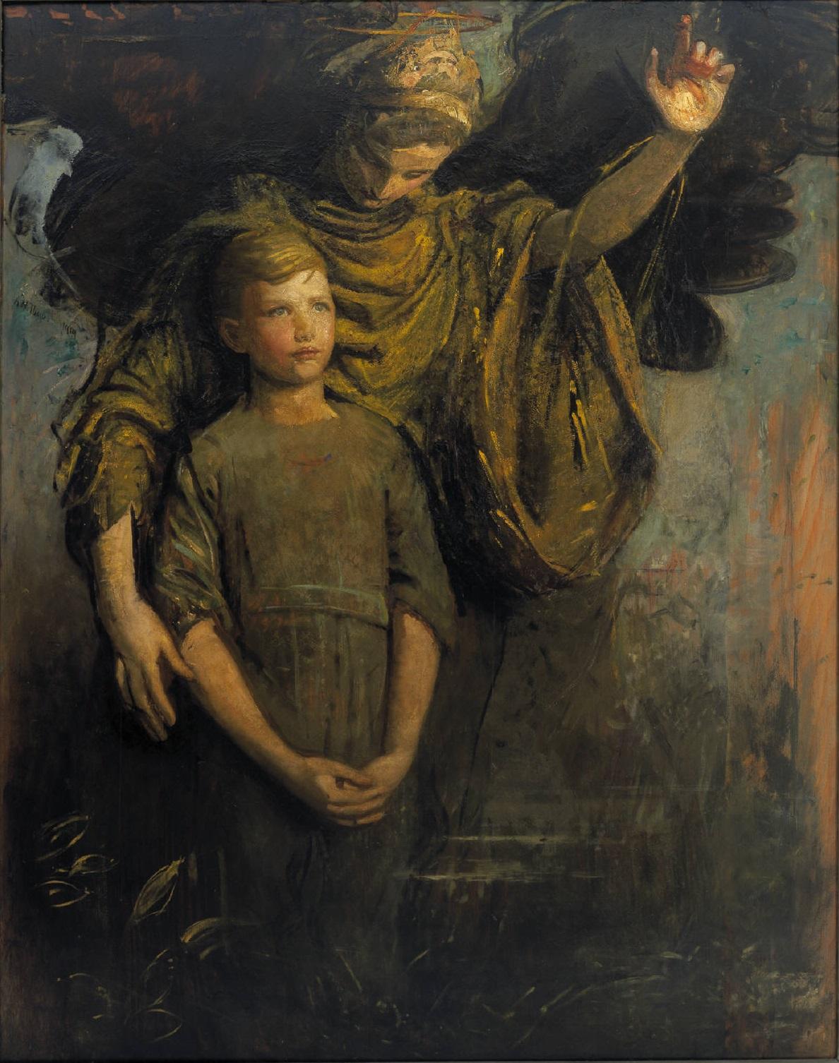 Abbott-Handerson-Thayer_Boy-and-Angel_1918