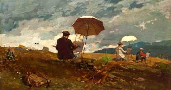 Winslow-Homer_Artists-Sketching-in-the-White-Mountains