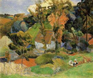 Paul-Gauguin_1888_Autumn-at-Pont-Aven