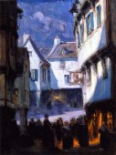 Clarence-Gagnon_street-in-moonlight