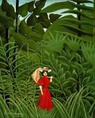 henri-rousseau_woman-in-red-in-the-forest