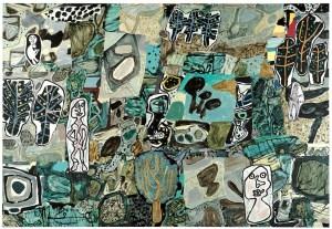 Jean Dubuffet, La riante contrée, 1977
