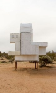 Ode To Frank Gehry, 1999 by Noah Purifoy