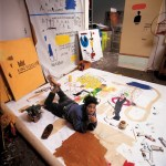 Jean-Michel Basquiat, 1987, in his New York studio (all portraits in the story are previously unpublished).CreditTseng Kwong Chi © Muna Tseng Dance Projects, Inc., New York