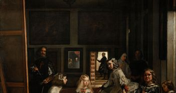 Las Meninas, 1656 Oil on canvas 10′ 5″ x 9′ 1″ by Diego Velázquez (1599-1660)