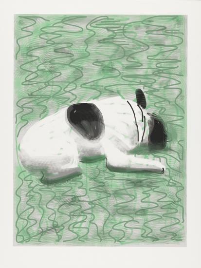 Moujik-2010-iPad-drawing-printed-on-paper-Edition-of-25-94-x-71.1-cm-David-Hockney