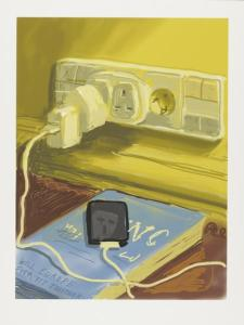 Will It Ever Work (2011) iPad drawing printed on paper, Edition of 25 94 x 71.1 cm by David Hockney