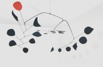 Rouge Triomphant (Triumphant Red), 1959-1965 Sheet metal, rod, and paint 110 × 230 × 180 inches by Alexander Calder (1898-1976)