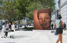 Rendering of a proposed monument to Maya Angelou by Lava Thomas (b. 1958)  Eren Hebert image