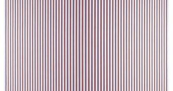 Chant 2, 1967 Emulsion on canvas 231.5 x 231 cm by Bridget Riley (b.1931)