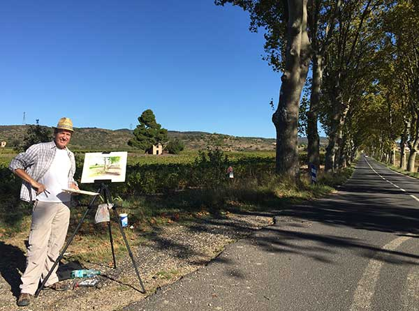 painting-in-the-languedoc