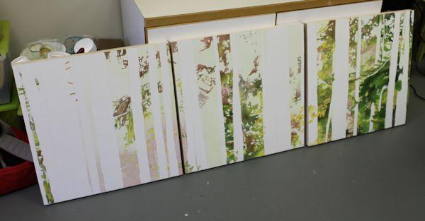 foliage painted