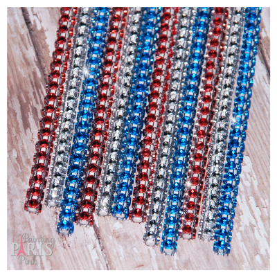 4th Of July Mix Shimmer Sticks