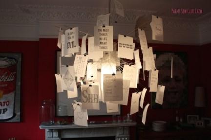 ingo maurer zettel quotes doodles and hand drawn. Black Bedroom Furniture Sets. Home Design Ideas