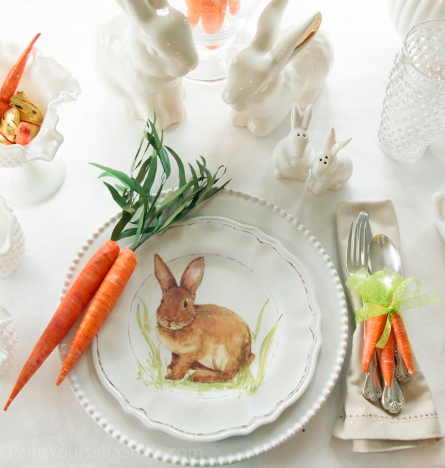 DIY Easter Décor & Napkin rings