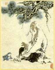 """Zhuangzi ~ (Image is in the Public Domain, artist unknown)"""