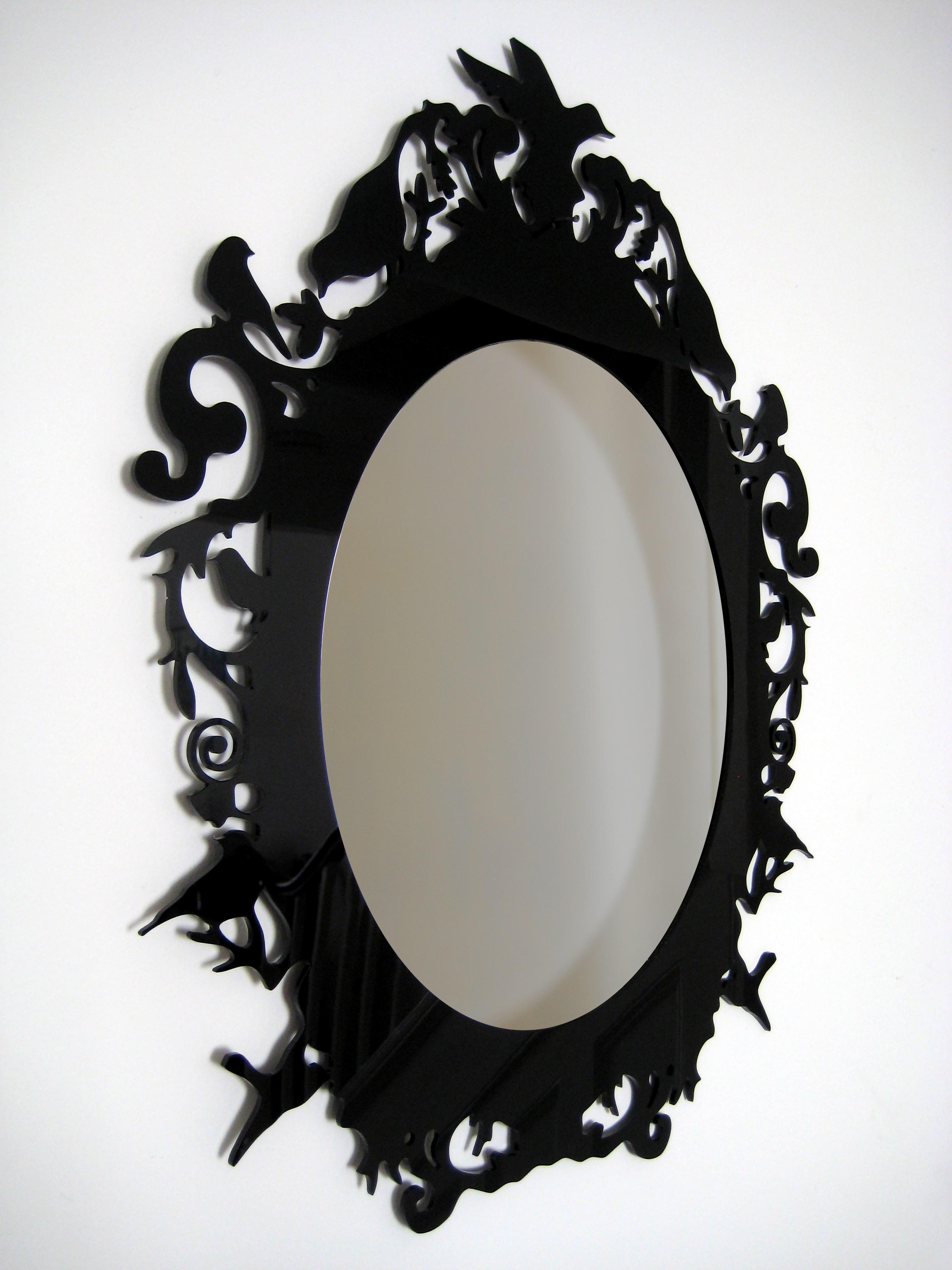 Examplary Laser Cut Acrylic Rococo Inspired Baroque Mirror Acrylic Mirrors Frames Paisley Fox How To Cut A Mirror Glaze Cake How To Cut A Mirror Into A Shape houzz-03 How To Cut A Mirror