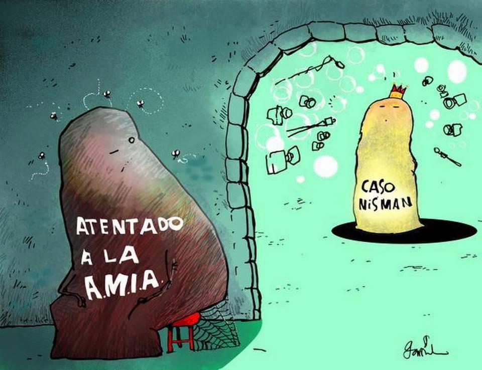Garrincha Argentina Nisman AMIA