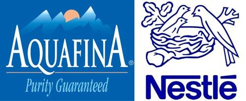Aquafina-and-Nestle_logo