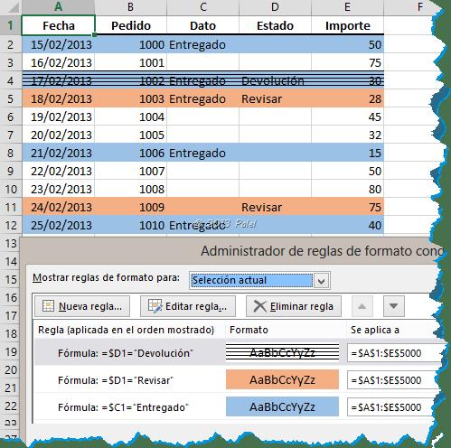 Excel - Formato condicional 6
