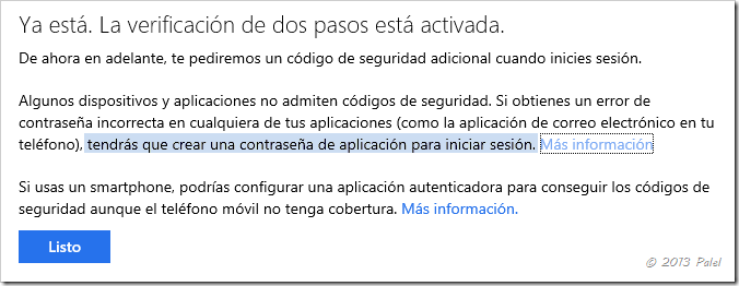 Contraseña y no la que utilizas para el acceso por el navegador a ...