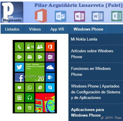 palel.es - Windows Phone