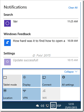 Windows 10 build 9926 - Palel.es