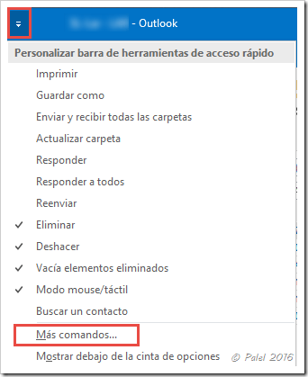 Outlook 2016 - Adjuntar archivos