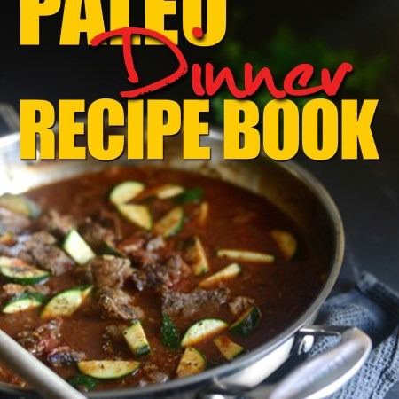 Paleo dinner cover