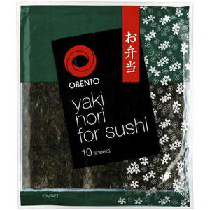 Nori sushi rolls wraps sheet Paleo Coles Supermarket shopping list primal