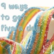 9 surprising ways to get your five a day