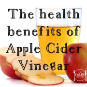 Apple Cider Vinegar the health benefits paleo diet ACV ideas-min