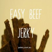 Easy beef jerky recipe dried Biltong recipe paleo network-min