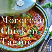 Moroccan Chicken Tagine paleo recipe-min