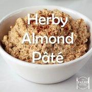 Paleo Diet Recipe Primal Herby Almond Nut Pâté-min