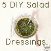 Paleo Lunch Box Recipe Five DIY Salad Dressings-min