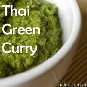 Paleo recipe thai green curry-min