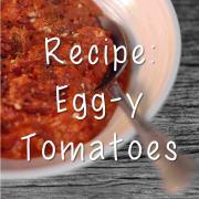Recipe Egg-y Tomatoes breakfast paleo network-min