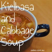 Recipe Kielbasa and Cabbage Soup paleo-min