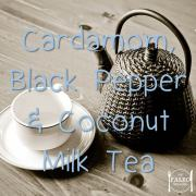 Recipe paleo herbal Cardamom, Black Pepper and Coconut Milk Tea-min