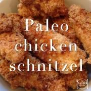 paleo diet recipe chicken schnitzel parmigiana butterfly kiev crumb mixture coating