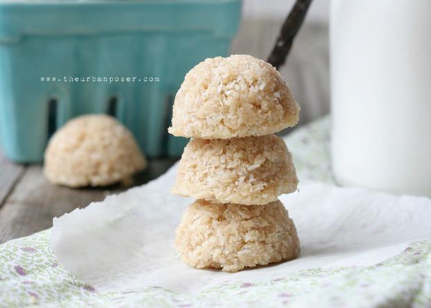 Paleo Coconut Lavender Macaroons