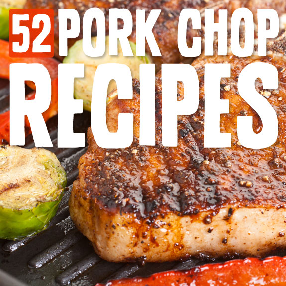 Paleo Applesauce Pork Chops