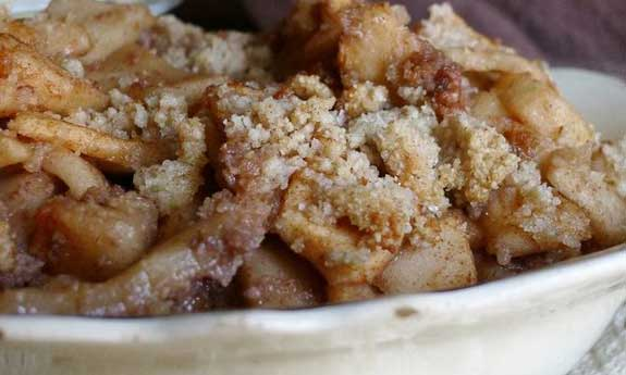Paleo Buttery Apple Brown Betty