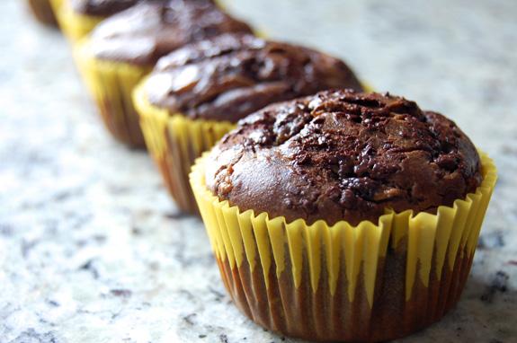 Paleo Moist Chocolate Muffins